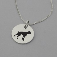 Boxer Silhouette Necklace