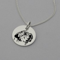 Boerboel Engraved Necklace