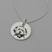 Maltese Engraved Necklace