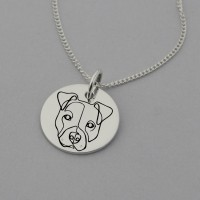 Pit bull Necklace
