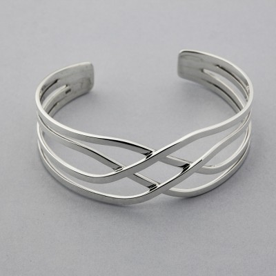 4 Tier Overlap Bangle