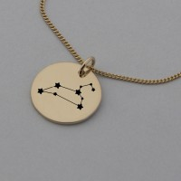 Leo Rose Gold Constellation Necklace