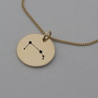 Aries Rose Gold Constellation Necklace