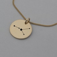 Cancer Rose Gold Constellation Necklace