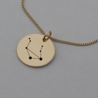 Libra Rose Gold Constellation Necklace