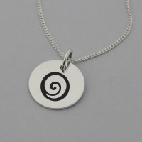 Gratitude Sterling Silver Necklace