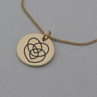 Motherhood Rose Gold Necklace with 'Love you Always' Engraved on the Back