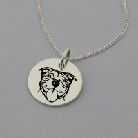 Staffordshire Terrier Necklace