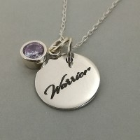 Warrior Pendant with Choice of Stone