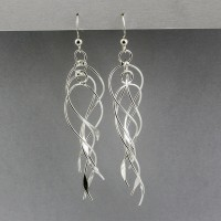 6 Strand Twist Earrings