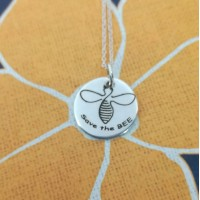 Save the Bee Pendant