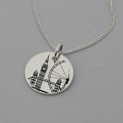 London Landmark Necklace